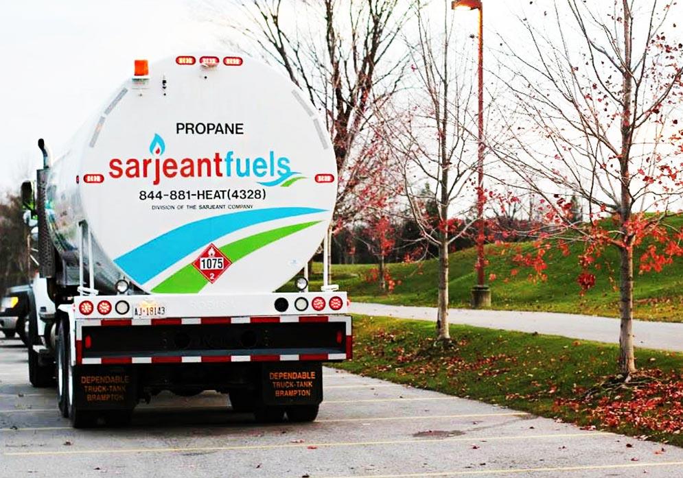 sarjeant propane truck